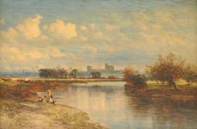 "William E. Harris (british 1856-1929) A Painting, ""a"