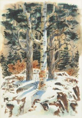 Arthur J. Barbour (american 1926-2006) A Painting,