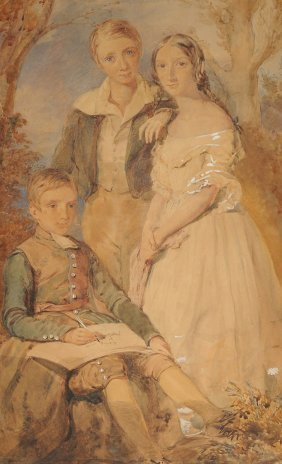 British/american School (19th Century) A Painting,