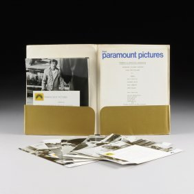 """A Studio Pressbook And Three 8"""" X 10"""" Color Lobby Cards"""