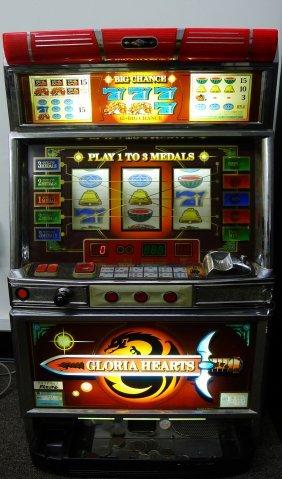 Vintage Japanese Mizuho Slot Machine Lot 82