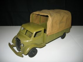 KINGSBURY ARMY TRUCK WITH CANVAS TOP