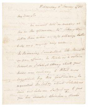 1786 Philip Schuyler Rev. War Major General Als