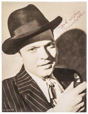 Orson Welles Citizen Kane Publicity Photograph