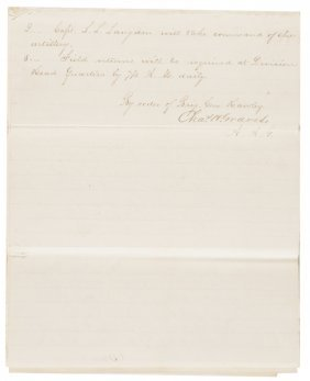 Collection Of 9 Civil War Union Officers Letters