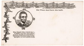 1860 Lincoln Presidential Campaign Postal Cover
