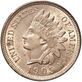 1905 Indian Head Cent Near Gem Red Uncirculated