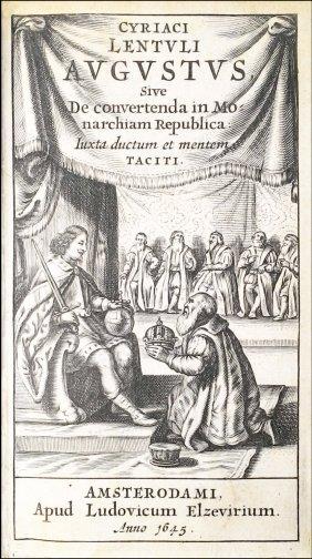 [roman History, Politics, Elzevier] Lentulus, 1645