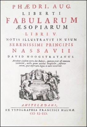 [fables] Phaedrus, Fabulae, 1701