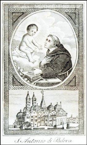 [churches, Padua, St. Anthony] Bigoni, 1830