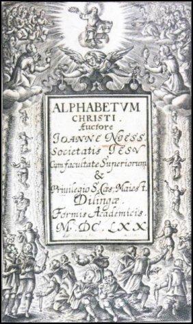 [jesuits, Mnemonics] Niess, Alphabetum, 1669