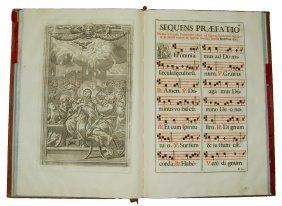 [liturgy, Missals, Music] Canon Missae, Baglioni, 1790