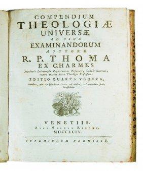 [theology] Thomas De Charmes, 1794