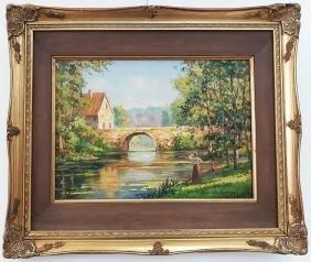 Edouard Cortes Oil On Canvas (attrib)