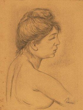 Pierre-auguste Renoir (french, 1841-1919) (attrib.)