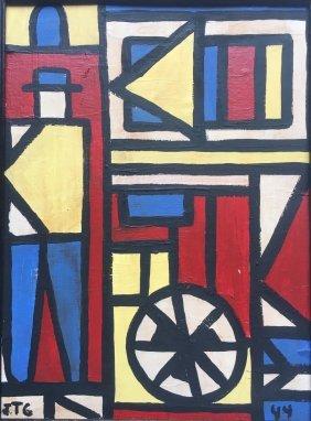 Uruguay Art. Joaquin Torres Garcia 1944