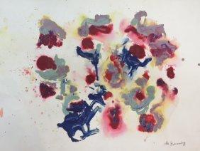 Williem De Kooning (1904-1997) Dutch-american