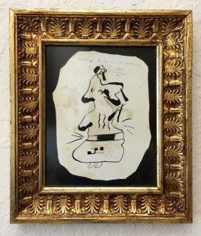 Joan Miro (attrib) (1893-1983)