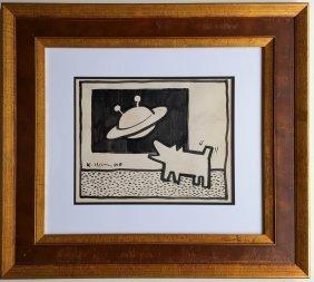 Keith Haring(attrib.) (1958-1990)