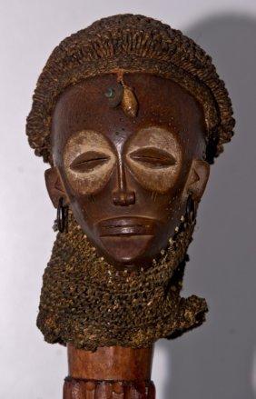 Superb Chokwe African Mwana Pwo Mask Lot 25