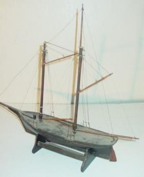 19th C. Ship Model