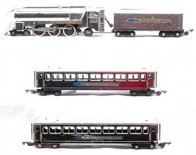 AF Silver Bullet Chrome 356 With Two 655 Coaches