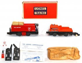 Lionel 55 Tie Jector, 3927 Track Clean, OB