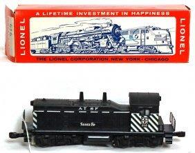 Lionel 616 Santa Fe Switcher, OB