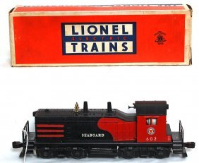 Lionel 602 Seaboard Switcher, OB