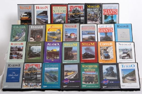 49 Best Images About Freque Magazine Vol 3 On Pinterest: 782: 37 Pentrex VHS Railroad Tapes : Lot 782