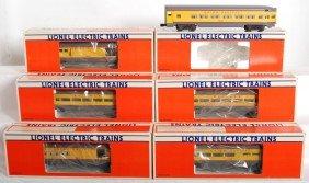 Lionel Union Pacific 9545 9546 9547 9548 9549 7210