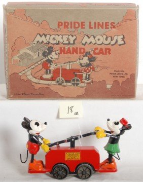 Pride Lines 1100 Mickey Mouse Hand Car Set