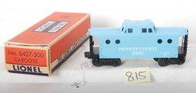 Lionel No. 6427-500 Girl's Train Caboose In OB
