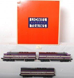Lionel 11903 Atlantic Coast Line F3 A-B-A Diesels