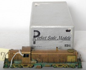 Perfect Scale Models Alco RSD-5 Diesel Road Switch