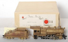 TID Trains Inc. D&RGW C-48 2-8-0 Steam Loco In OB