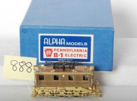 Alpha Model Brass HO Pennsylvania B-1 Electric In