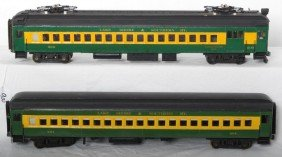 O Scale Lake Shore And Southern Commuter Cars
