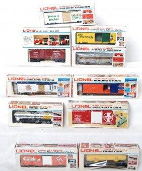 10 Lionel Freight Cars 7901, 5712, 6310, 7810, Etc