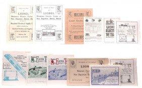 Lionel Repro Catalogs 1904-1906 1909-1914 1917