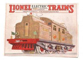 Lionel Prewar Consumer Catalog For 1927