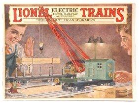 Lionel Prewar Consumer Catalog For 1928