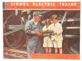 Lionel Prewar Consumer Catalog For 1931