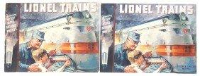 Lionel Prewar Two Consumer Catalogs For 1935