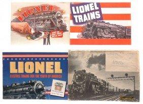 Lionel Prewar Consumer Catalogs 1940 1941 1942