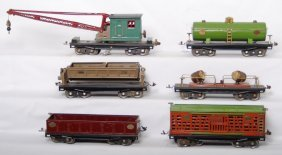 Lionel 212, 213, 215, 218, 219, 220 Standard Gauge