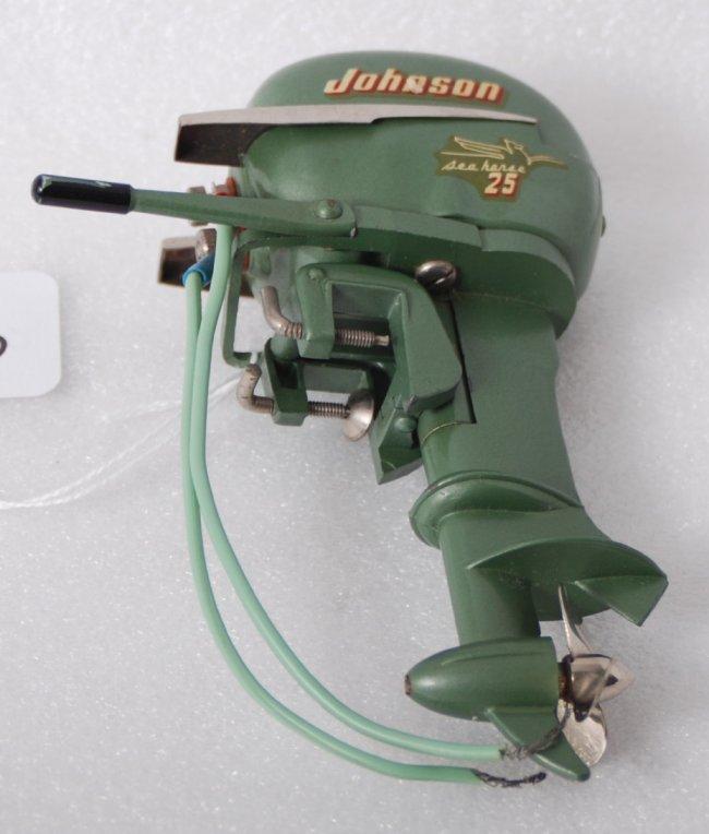1363 Johnson Sea Horse 25 Battery Operated Boat Motor
