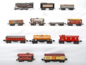 Lionel And Marx Prewar Lithographed Tinplate Trains