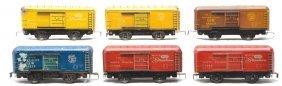 Marx Litho 3 51998 C&NW 3 SSW Boxcars