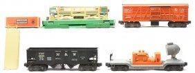 Lionel 3656 Cattle 3456 Hopper 6520 Searchlight